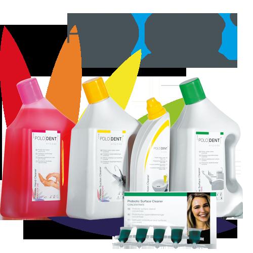 PoloDent Probiotische Reinigingsproducten